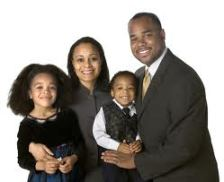 image of happy black family 2