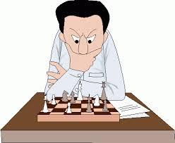 image of chess playing cartoon