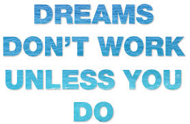 image of dreams and work